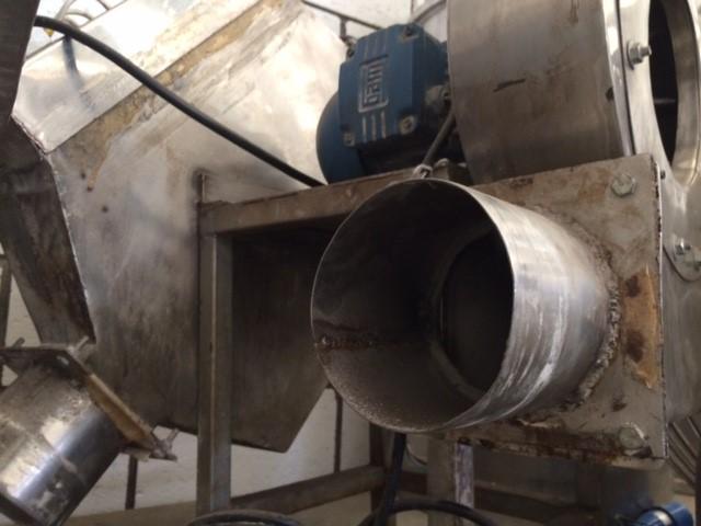 Insuflador de ar para drageadeira em inox - 2