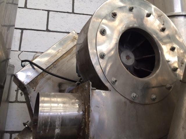 Insuflador de ar para drageadeira em inox - 3