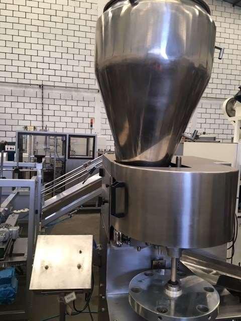 Envasadora de bisnaga Tubetta para aluminio - 3