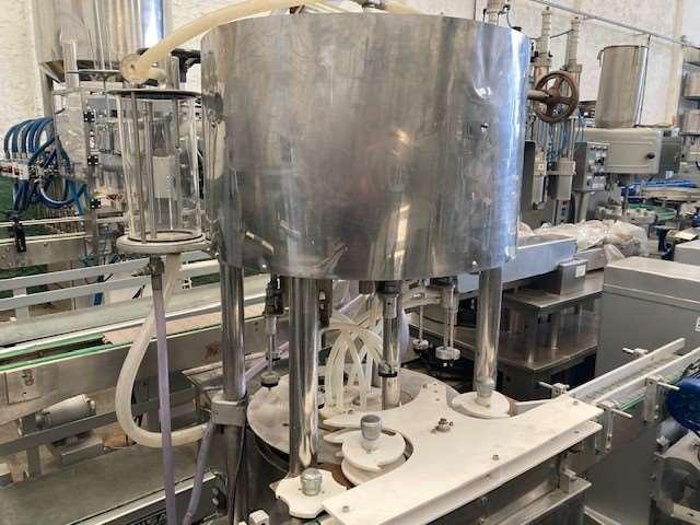 Envasadora automatica 9 bicos para liquidos