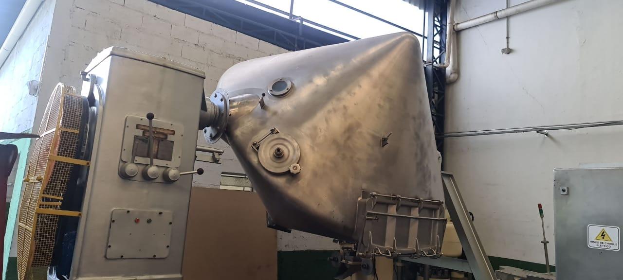 Misturador para pó Duplo Cone 4.000 litros - 4