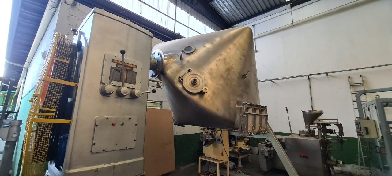 Misturador para pó Duplo Cone 4.000 litros - 2