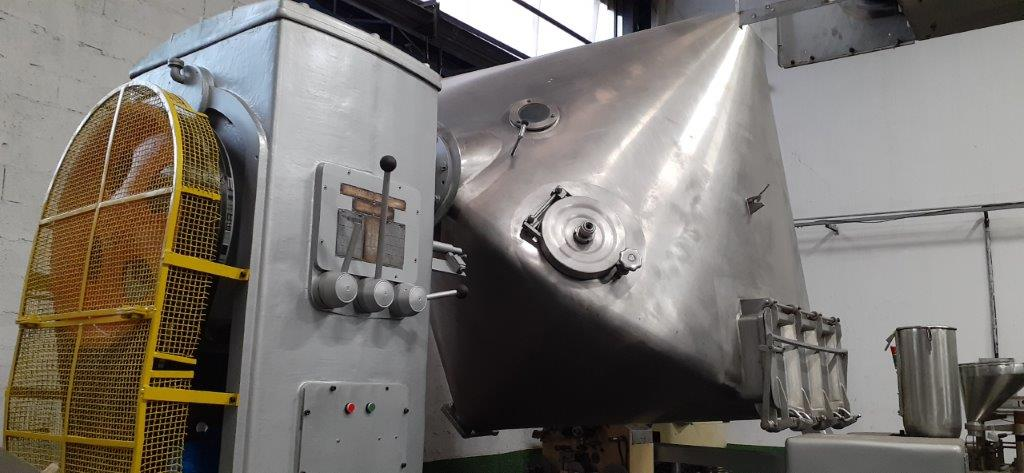 Misturador para pó Duplo Cone 6.000 litros