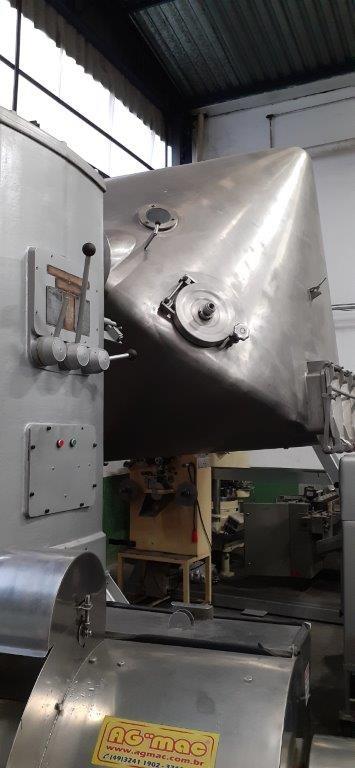 Misturador para pó Duplo Cone 4.000 litros - 8