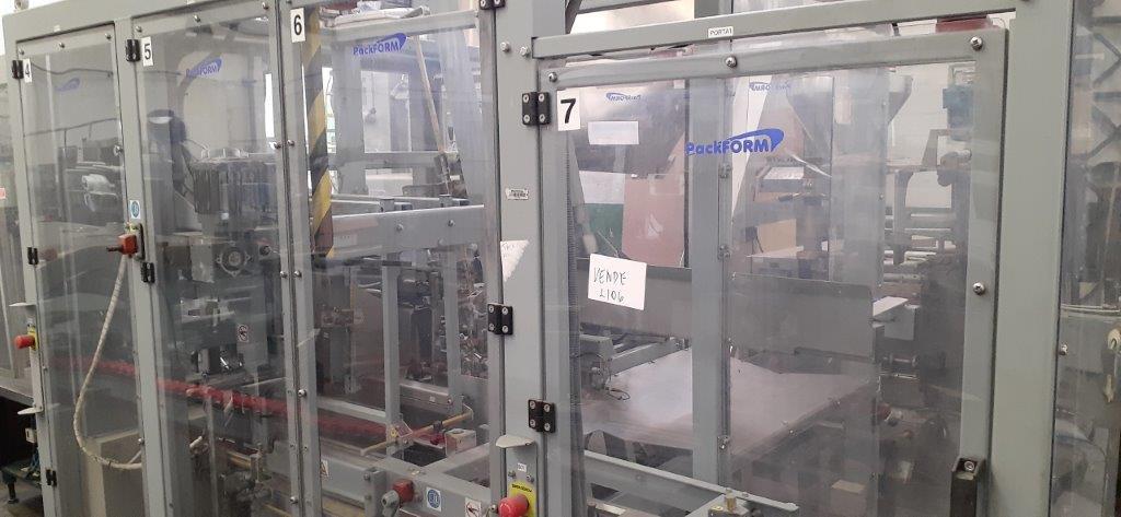 Encaixotadora Case Packer marca Packform  - 2