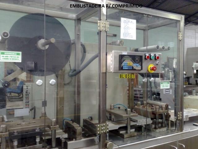 MAQUINA EMBLISTADEIRA  - 2